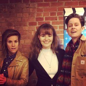Piera with Cameron and Rhea NBC Take My Wife