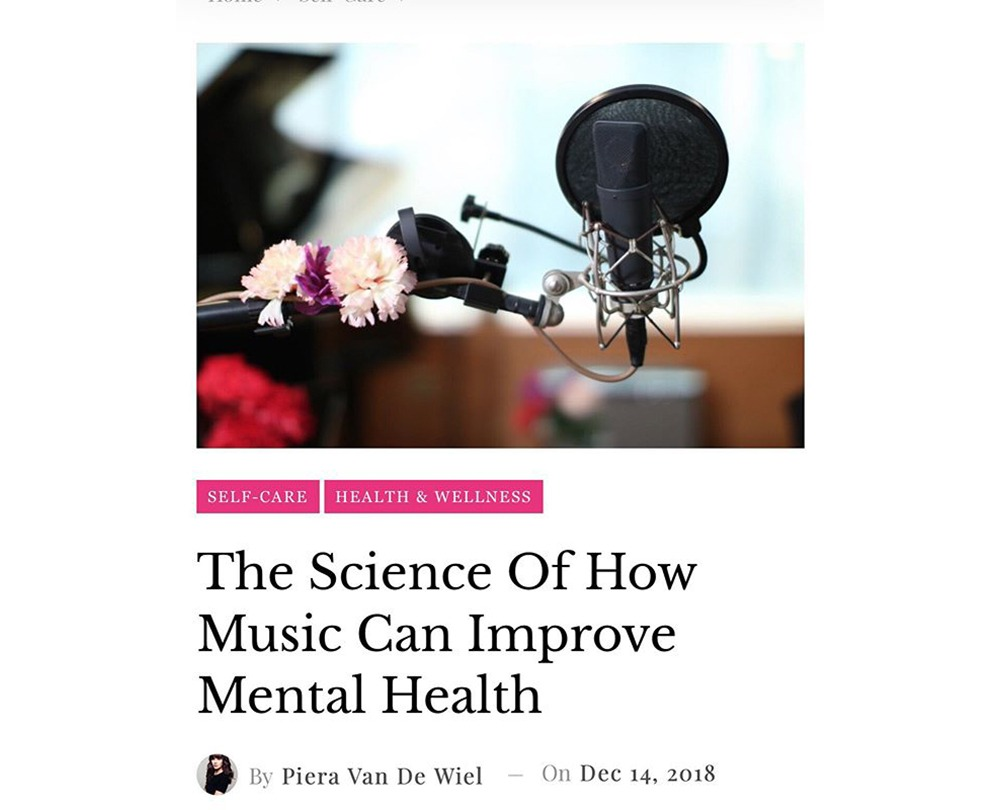 The Science Of How Music Can Improve Mental Health