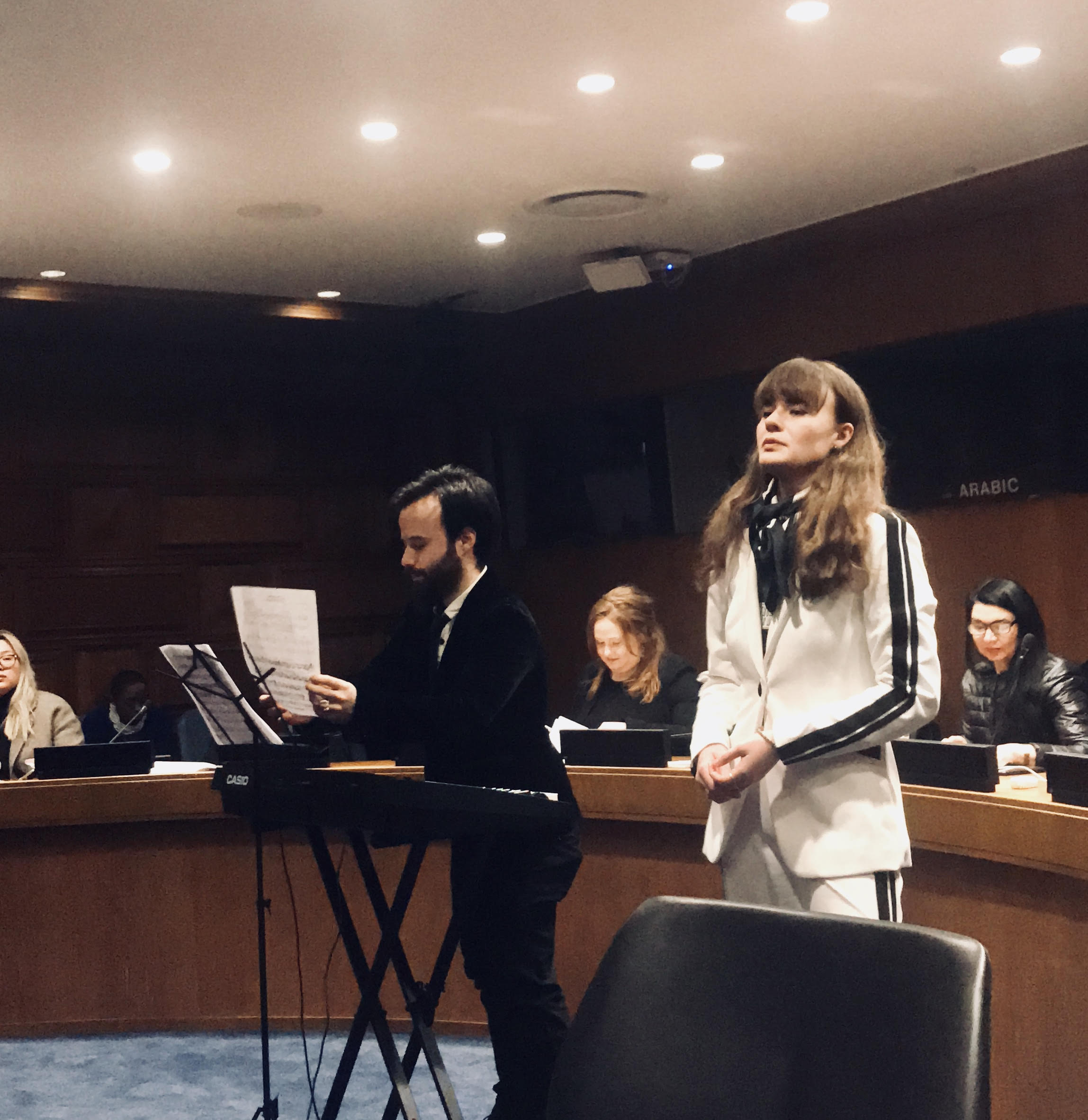 Piera at United Nations Event