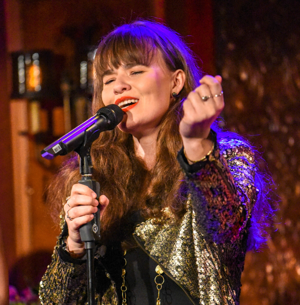 Piera Van De Wiel Feinstein 54 Below event